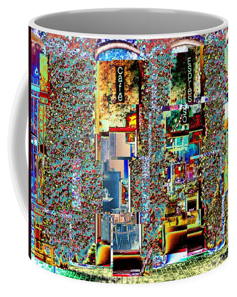 Seattle Coffee Mug featuring the photograph Grand Central Bakery 1 by Tim Allen