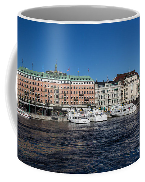 Grand Hotel Coffee Mug featuring the photograph Grand Hotel Stockholm by Suzanne Luft