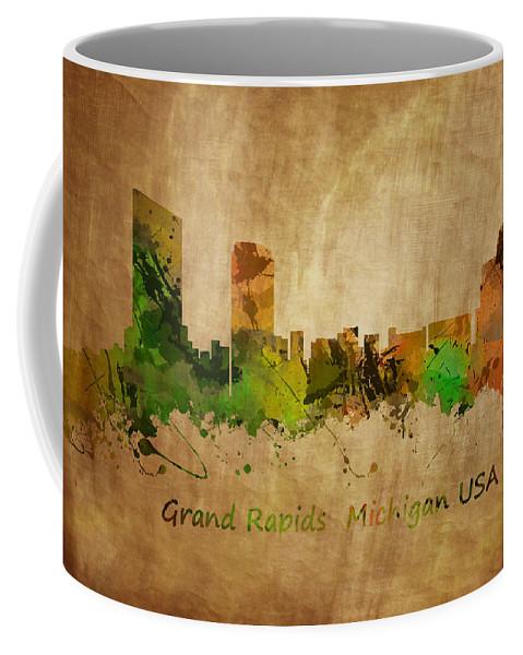 Grand Rapids Coffee Mug featuring the photograph Grand Rapids Michigan by Chris Smith