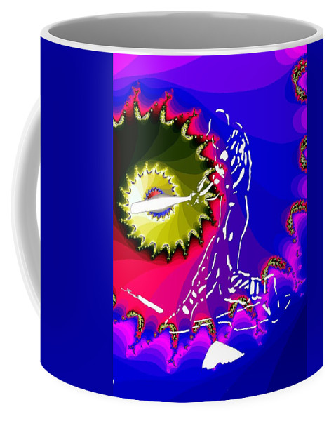 Baseball Coffee Mug featuring the photograph Grand Salami by Tim Allen