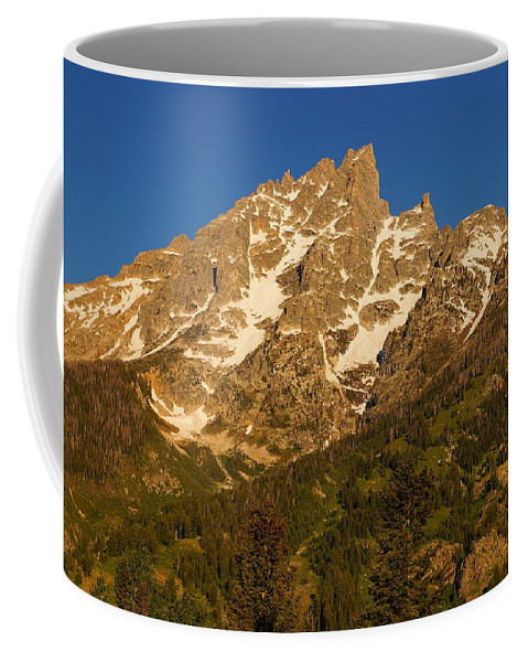 Grand Teton National Park Coffee Mug featuring the photograph Grand Sight by Beth Collins