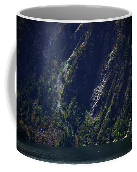 Art For The Wall...patzer Photography Coffee Mug featuring the photograph Grandeur by Greg Patzer
