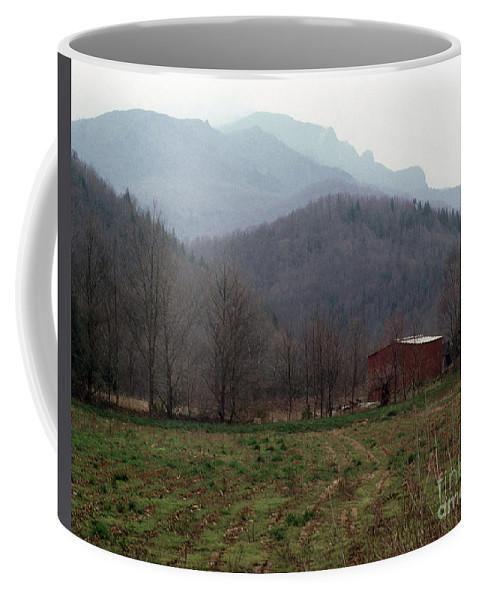North Carolina Coffee Mug featuring the photograph Grandfather Mountain by Richard Rizzo