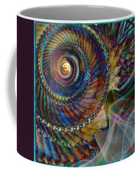 Grandma Coffee Mug featuring the digital art Grandma's Treasures by Barbara Berney