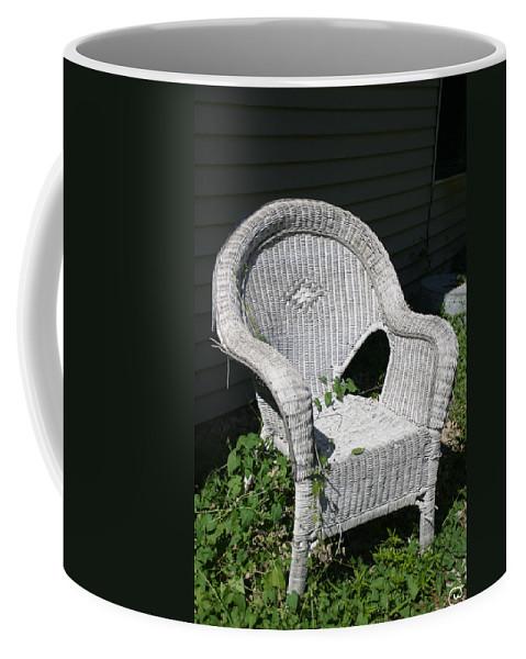 Chair Coffee Mug featuring the photograph Grandpa's Chair by Bjorn Sjogren