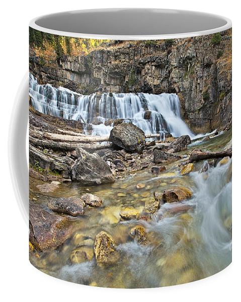 Granite Creek Coffee Mug featuring the photograph Granite Falls by Daryl L Hunter