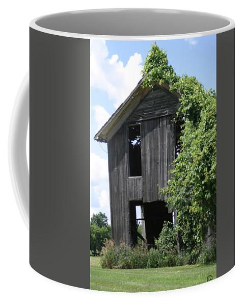 Grapevine Coffee Mug featuring the photograph Grapevine Mansion by Bjorn Sjogren