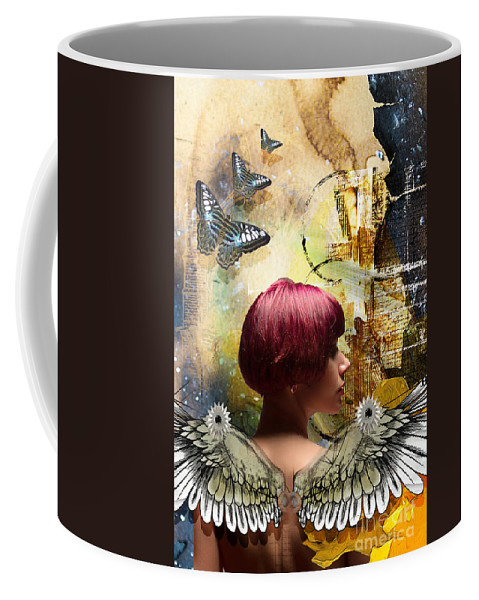 Butterfly Coffee Mug featuring the photograph Graphic Arts by Larry White