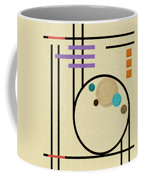 Sand Coffee Mug featuring the digital art Graphics In The Sand by Tara Hutton