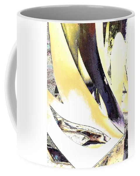 Computer Graphics Coffee Mug featuring the pyrography Graphics2 by Mira Satryan