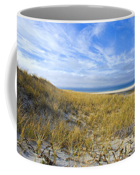 Dunes Coffee Mug featuring the photograph Grassy Dunes by Charles Harden