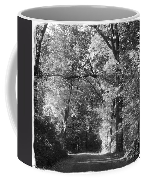 Back Coffee Mug featuring the photograph Graves Rd by September Stone
