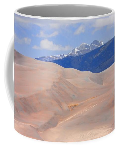 the Great Colorado Sand Dunes Coffee Mug featuring the photograph Great Colorado Sand Dunes by James BO Insogna