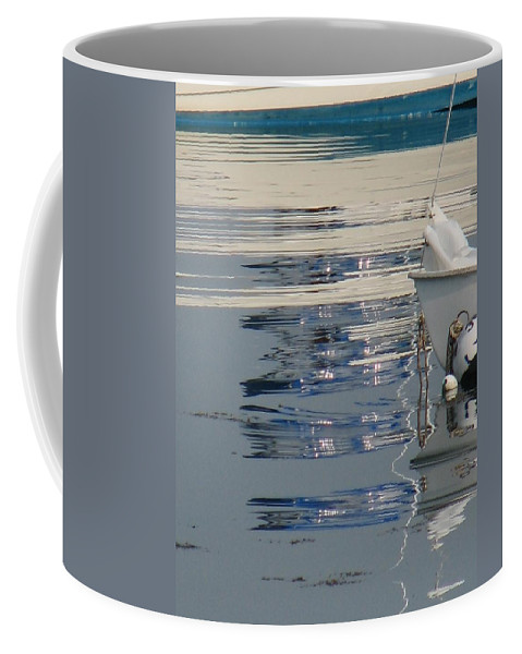 Ocean Coffee Mug featuring the photograph Great Day For Sailing by Kelly Mezzapelle