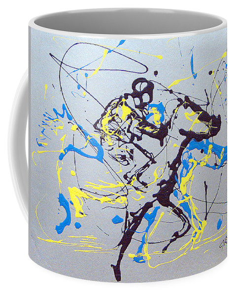 Kentucky Derby Coffee Mug featuring the painting Great Day In Kentucky by J R Seymour