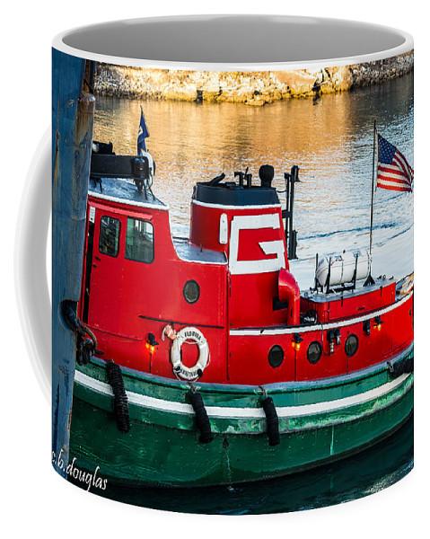 106th Street Bridge Coffee Mug featuring the photograph Great Lakes Towing Tug Florida by Christine Douglas