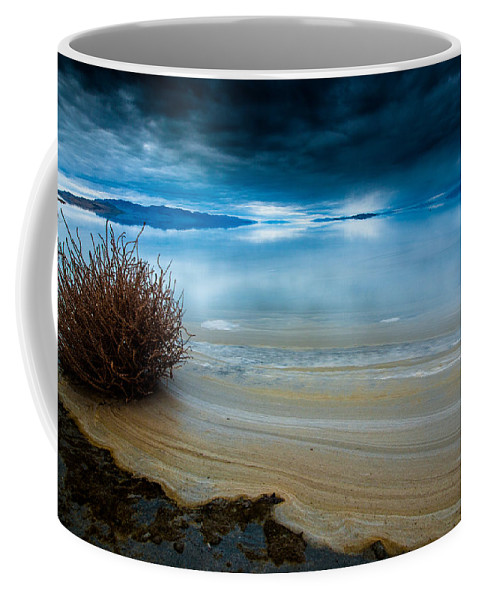 Great Salt Lake Coffee Mug featuring the photograph Great Salt Lake Shores by Scott Law