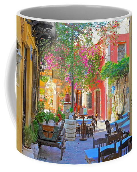 Photography Coffee Mug featuring the photograph Greek Culture - 4162 by Panos Pliassas