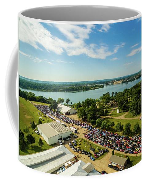 Mtts Coffee Mug featuring the photograph Green Bay Rise/shine 2 by That MINI Show