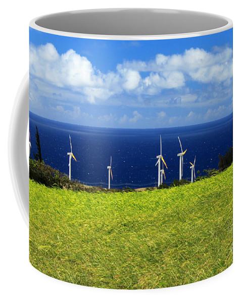 Alternative Coffee Mug featuring the photograph Green Energy by James Eddy