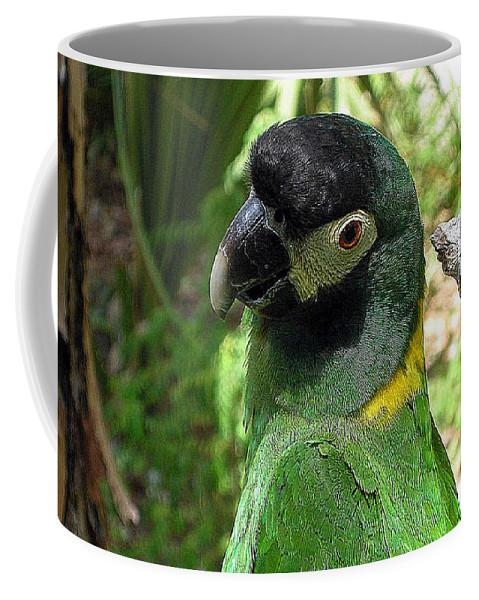 Green Coffee Mug featuring the photograph Green Goddess by Davis FlowerPower