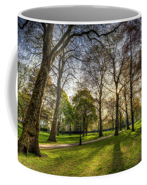 Green Park London Coffee Mug featuring the photograph Green Park London by David Pyatt