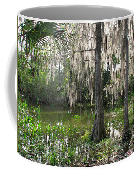 Nature Coffee Mug featuring the photograph Green Swamp by Peg Urban