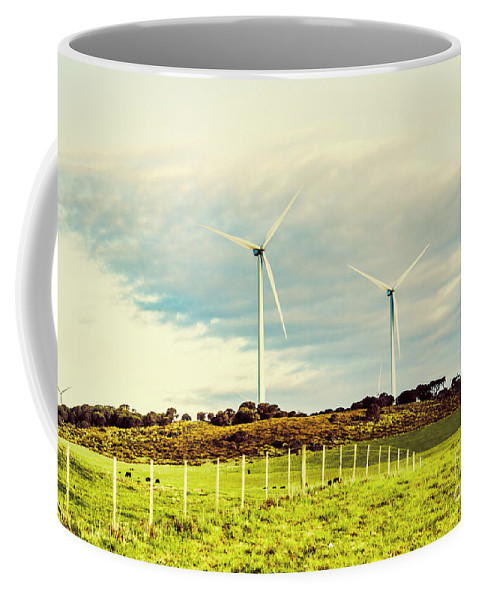 Farm Coffee Mug featuring the photograph Green Tasmania by Jorgo Photography - Wall Art Gallery
