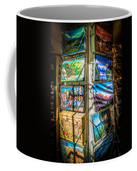 Montana Coffee Mug featuring the photograph Greetings From Montana by Spencer McDonald