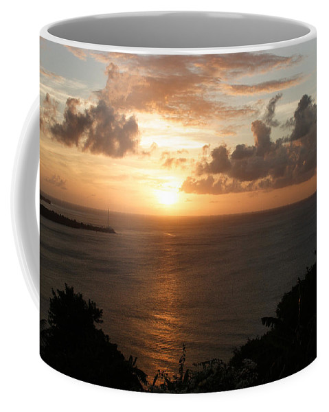 Grenada Coffee Mug featuring the photograph Grenadian Sunset I by Jean Macaluso