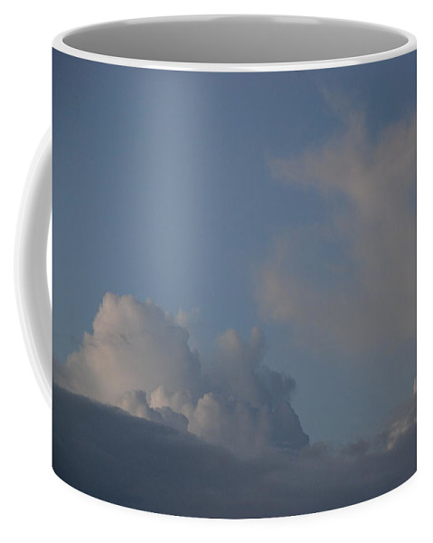 Clouds Coffee Mug featuring the photograph Greyskys by Rob Hans