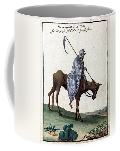 History Coffee Mug featuring the photograph Grim Reaper, 18th Century by Wellcome Images