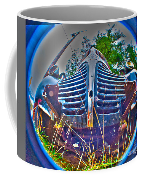 Art Coffee Mug featuring the photograph Growl by Clayton Bruster