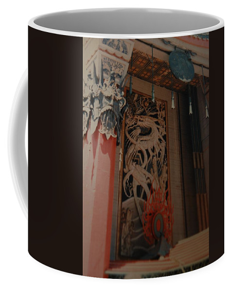 Grumanns Chinese Theater Coffee Mug featuring the photograph Grumanns Chinese Theater by Rob Hans