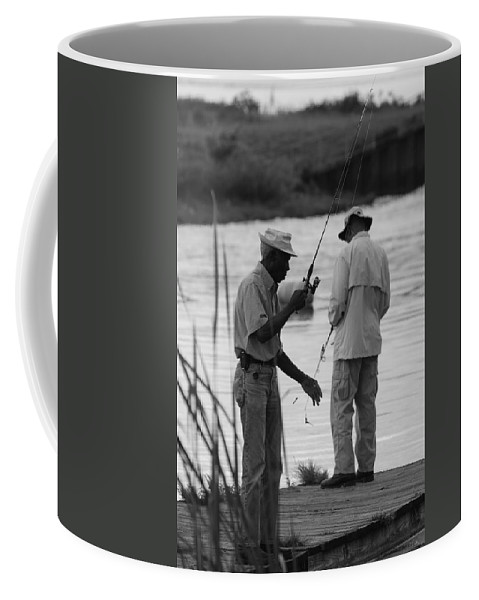 Men Coffee Mug featuring the photograph Grumpy Old Men by Rob Hans