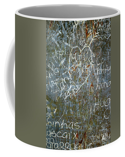 Abstract Coffee Mug featuring the photograph Grunge Background IIi by Carlos Caetano