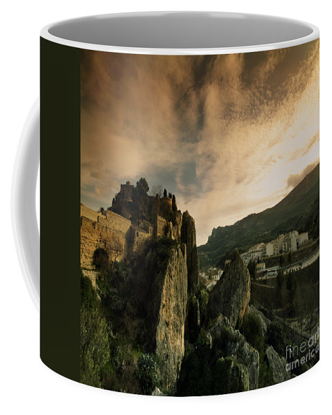 Guadalest Coffee Mug featuring the photograph Guadalest by Angel Ciesniarska