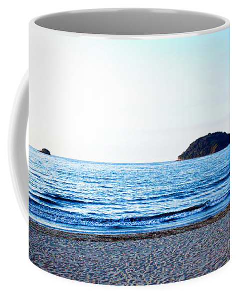 Beach Coffee Mug featuring the photograph Guayabitos 4 by Kim Peto
