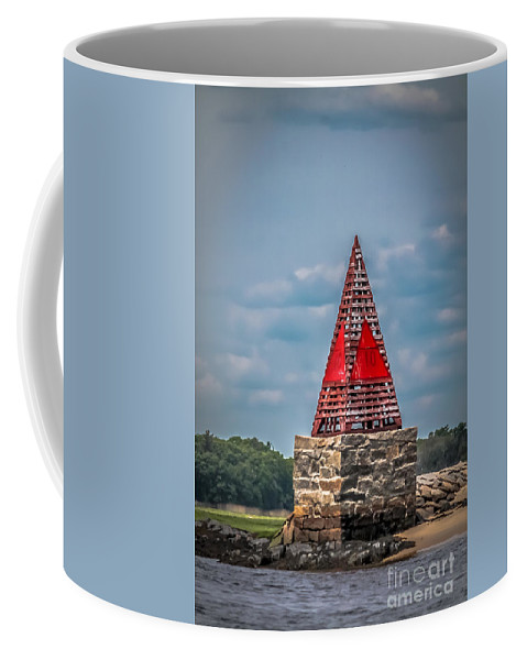 Nautical Coffee Mug featuring the photograph Guidance by Claudia M Photography