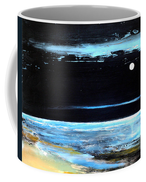Landscape Coffee Mug featuring the painting Guiding Light by Toni Grote