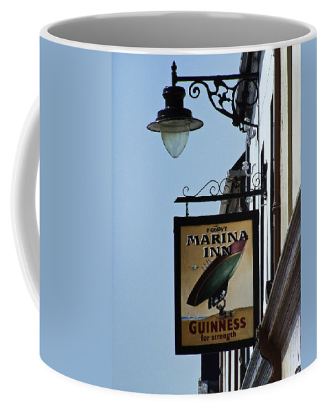 Irish Coffee Mug featuring the photograph Guinness For Strength Dingle Ireland by Teresa Mucha