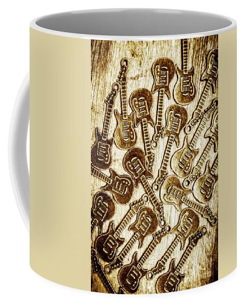 Guitar Coffee Mug featuring the photograph Guitar Echo Chamber by Jorgo Photography - Wall Art Gallery