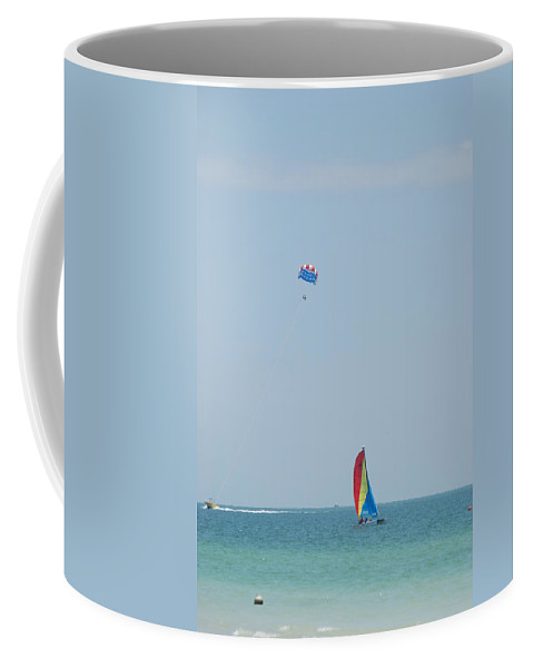 Nautical Coffee Mug featuring the photograph Gulf Of Mexico Activity by Rob Hans