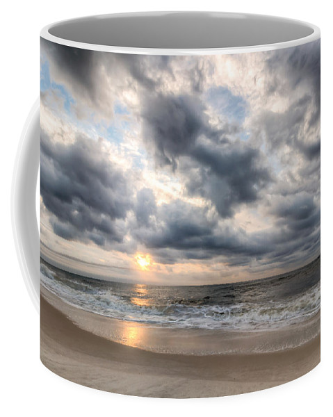 Clouds Coffee Mug featuring the photograph Gulf Star by Gary Oliver