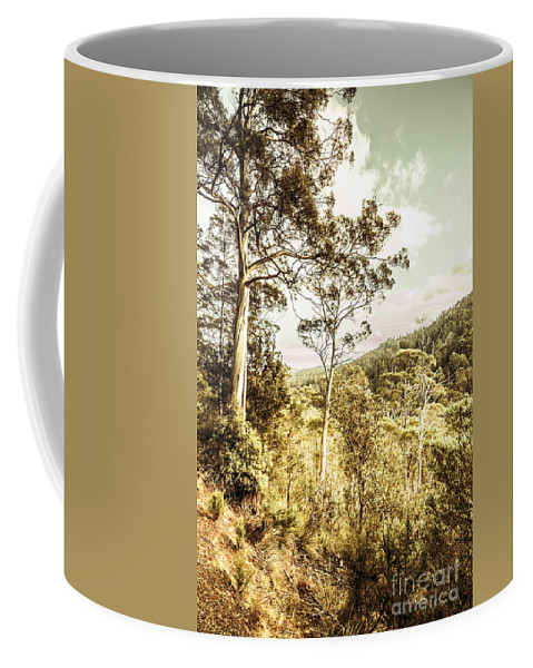 Bushland Coffee Mug featuring the photograph Gumtree Bushland by Jorgo Photography - Wall Art Gallery