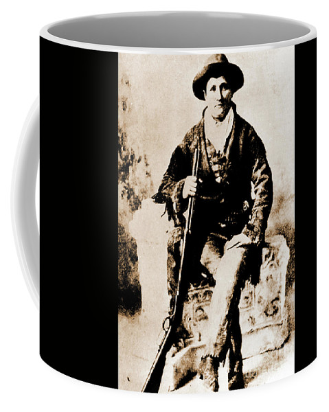 Gun Coffee Mug featuring the photograph Gunfighter by Gary Wonning
