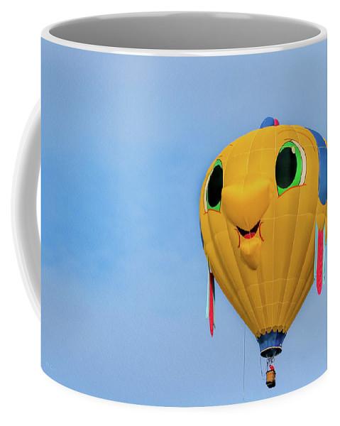 Gus T Guppy Coffee Mug featuring the photograph Gus T Guppy by Bob Orsillo
