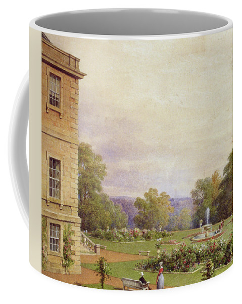 Aberdeenshire Coffee Mug featuring the painting Haddo House by James Giles