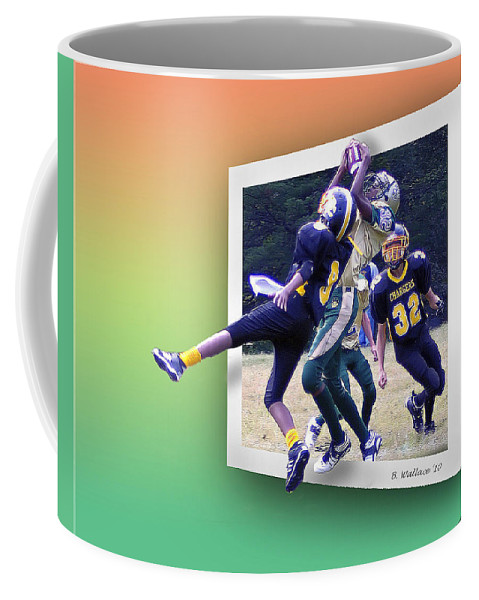 2d Coffee Mug featuring the photograph Hail Mary by Brian Wallace