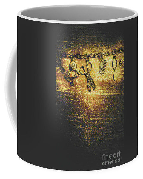Hairdressing Coffee Mug featuring the photograph Hairdressing Beauty Salon Background by Jorgo Photography - Wall Art Gallery